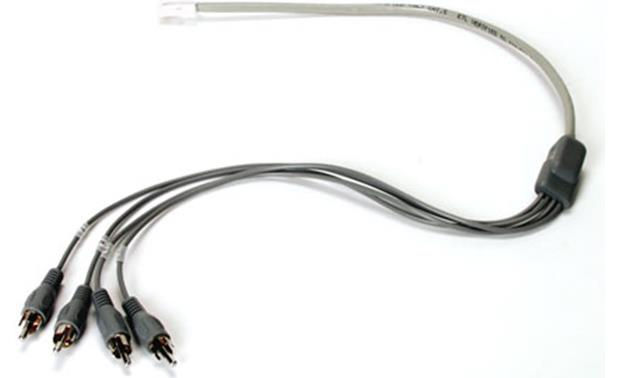 On-Q RJ-45 to Four RCA Audio Cable Front