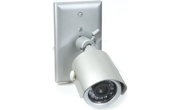 On-Q Weatherproof Black and White IR Bullet Camera Front