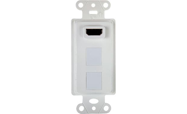 On-Q HDMI 2-port Strap (White) Front