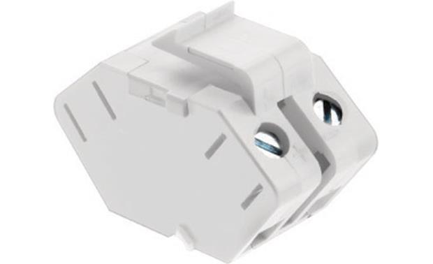 On-Q Single-speaker Keystone Insert (White) Front