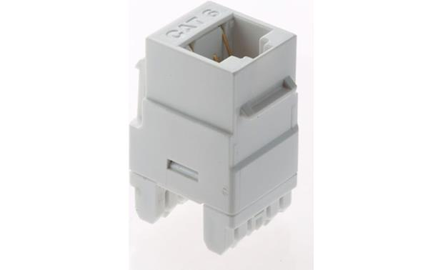 On-Q CAT-6 RJ-45 Keystone Connector Front