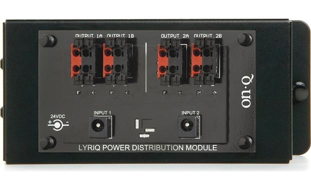 On-Q lyriQ™ High Performance Keypad Power Module Front