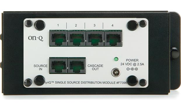 On-Q lyriQ™ Single-source, Four-zone Distribution Module Front