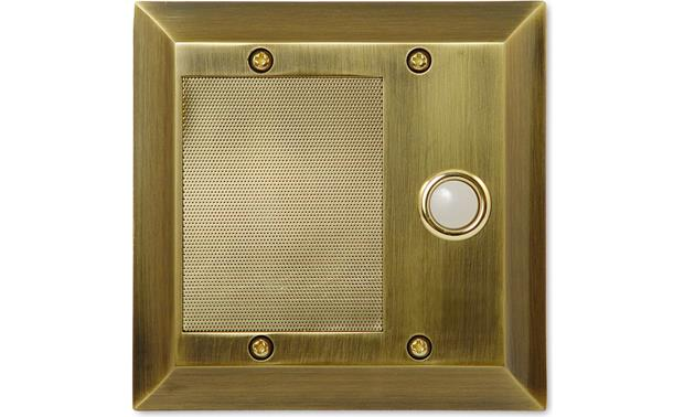On-Q inQuire™ Intercom Door Unit Antique Brass