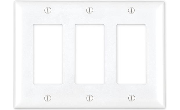 On-Q Decorator Wall Plate (White) Front