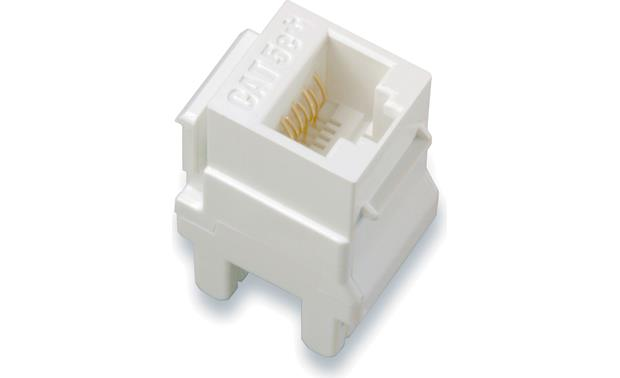 On-Q CAT-5e RJ-45 Keystone Connector Front