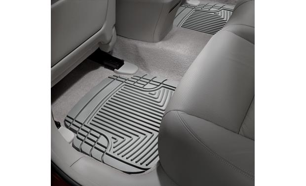 WeatherTech All-Weather Floor Mat Representative photo — your liner's appearance may differ