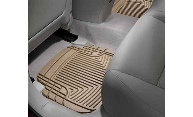 WeatherTech All-Weather Floor Mat Representative photo - your liner's appearance may differ