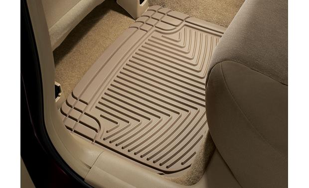 WeatherTech All-Weather Floor Mats 2008 Honda Accord - your liner's appearance may differ