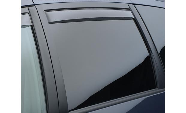 WeatherTech Side Window Deflectors Front