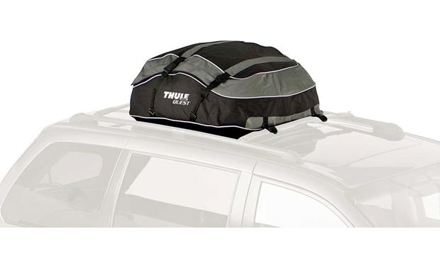 Thule quest™ cargo bag fits most roof racks at crutchfield