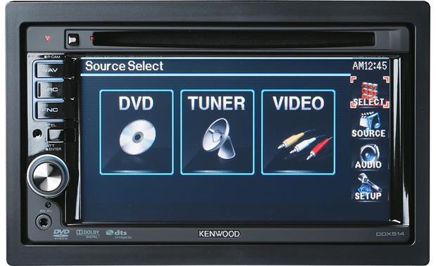 Kenwood ddx514 dvd receiver at crutchfield kenwood ddx514 front swarovskicordoba Image collections