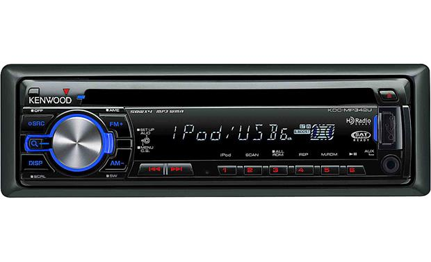 Kenwood KDC-MP342U Front