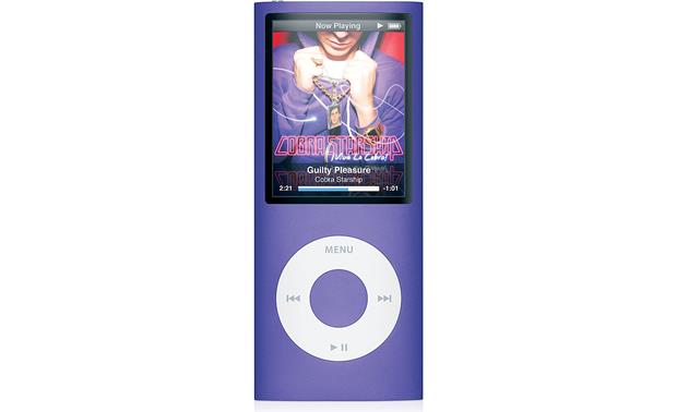 apple ipod nano 8gb purple digital music photo video player with rh crutchfield com ipod nano a1236 8gb manual ipod nano 8g review