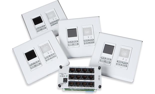 On-Q Selective Call Four-location Intercom Kit White