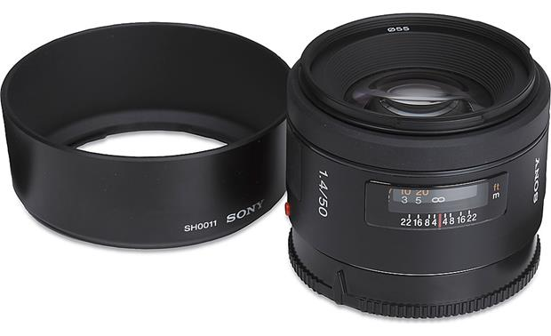 Sony SAL50F14 50mm f/1.4 Front