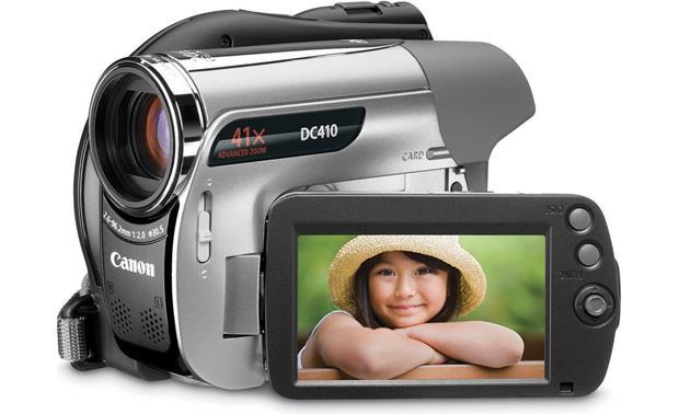 canon dc410 dvd camcorder at crutchfield com rh crutchfield com Canon Rebel Camera Canon Vixia