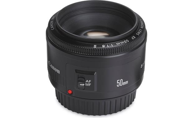 Canon EF 50mm f/1.8 II Lens Front