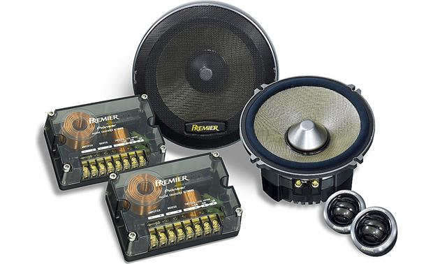 pioneer premier ts c720prs prs series 6 3 4 quot component system also fit 6 1 2 quot openings at