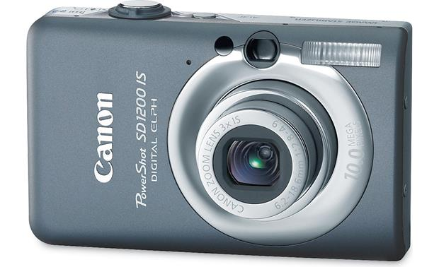 Canon PowerShot SD1200 IS Dark Gray