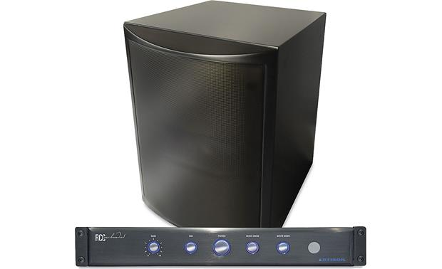Artison RCC-300-FS Subwoofer with front amplifier panel