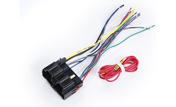 metra 70 2105 receiver wiring harness connect a new car stereo in select 2007 11 chevrolet and