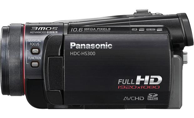 Panasonic HDC-HS300 Right