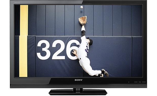 sony kdl 46z5100 46 bravia z series 1080p lcd hdtv with 240hz anti rh crutchfield com Sony 46 XBR TV KDL XBR9