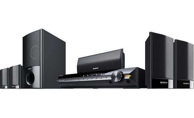sony dav hdx285 5 disc bravia dvd home theater system with ipod rh crutchfield com Sony 1000W Home Theater System Old Sony Home Theater System
