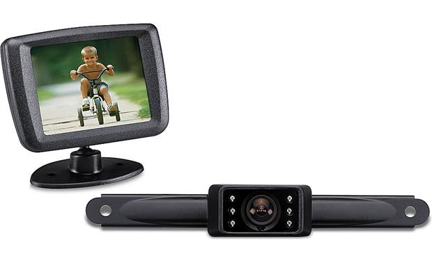 Audiovox ACA250 Rear-view System Front