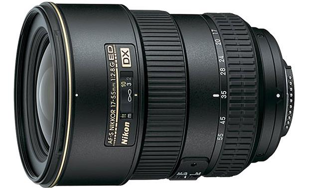 Nikon AF-S DX Zoom Nikkor 17-55mm f/2.8G IF-ED Front