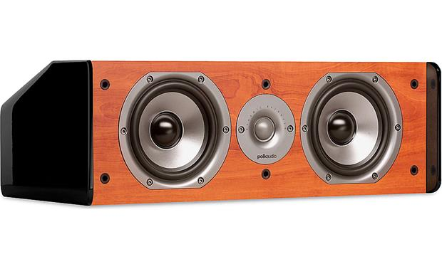 Polk Audio TSi CS10 Front - Cherry, grille off