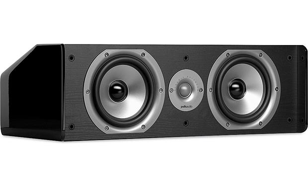 Polk Audio TSi CS20 Front - Black, grille off
