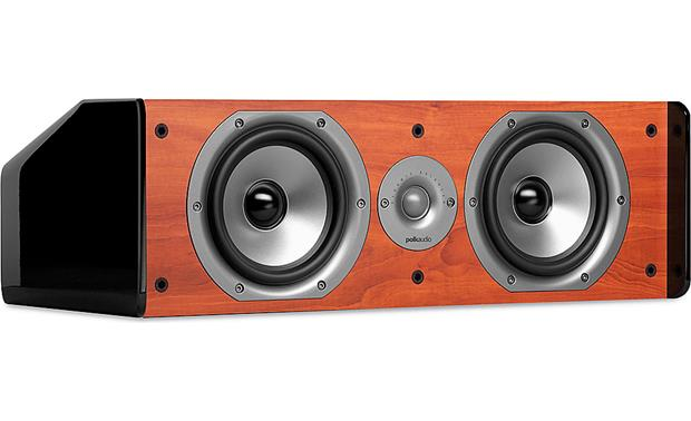 Polk Audio TSi CS20 Front - Cherry, grille off