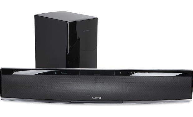 Samsung Ht X810t Powered Home Theater Sound Bar With Built