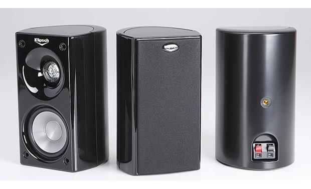 klipsch hd theater 500 home theater speaker system reviews at. Black Bedroom Furniture Sets. Home Design Ideas