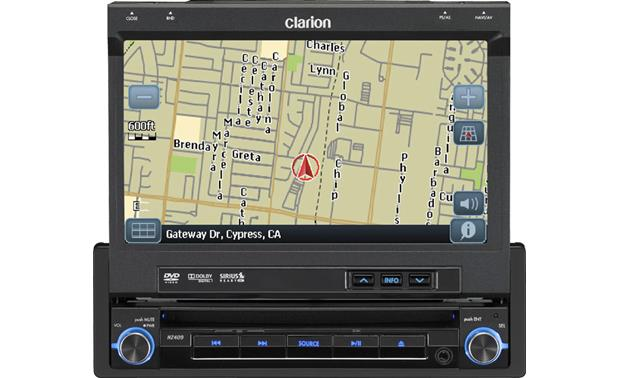 Clarion NZ409 on