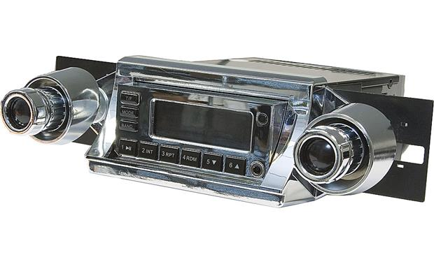 Retrosound 252 Dash Cup Kit Chrome cups (stereo not included)
