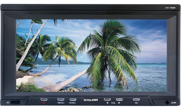 Valor vh 700w 7 headrest video monitor at crutchfield valor vh 700w front fandeluxe Image collections