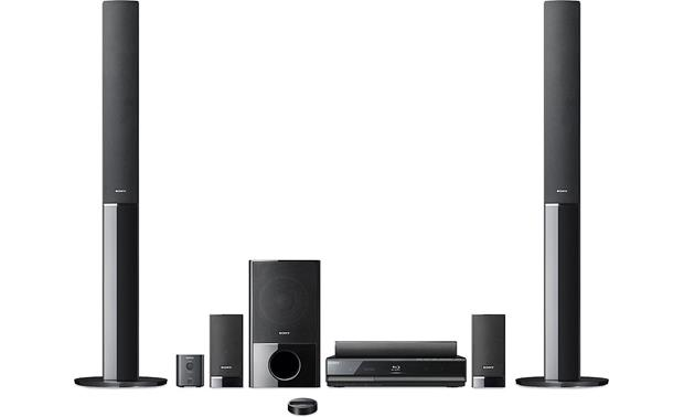Sony BDVE500W Bluray Disc home theater system with iPod dock and