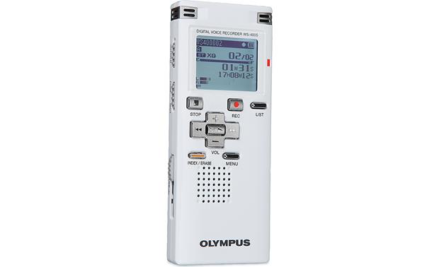 olympus ws 400s 1gb digital voice recorder at crutchfield com rh crutchfield com olympus digital voice recorder ws-400s manual