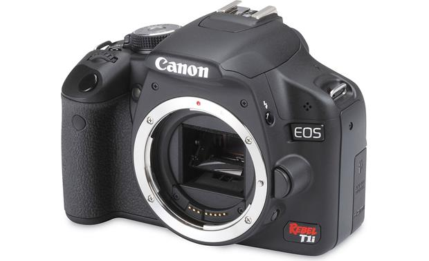 Canon EOS Digital Rebel T1i (Body only) Front