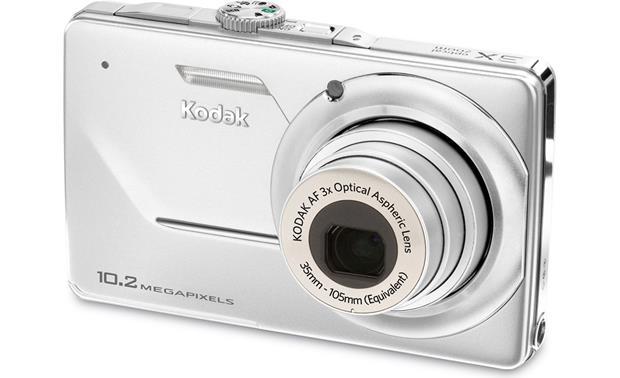kodak easyshare m340 silver 10 2 megapixel digital camera with 3x rh crutchfield com Kodak 14 Megapixel Camera Kodak 7 2 Mega Pixels