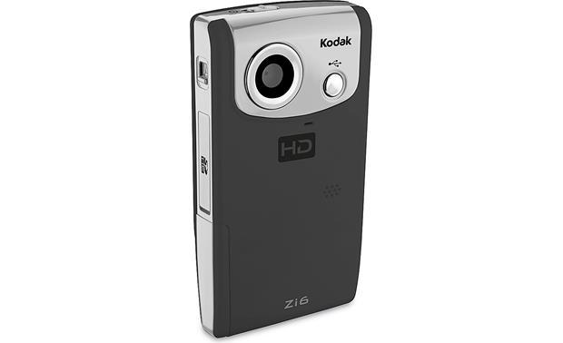 kodak zi6 black hd pocket video camera at crutchfield com rh crutchfield com Kodak Zx1 Kodak Black