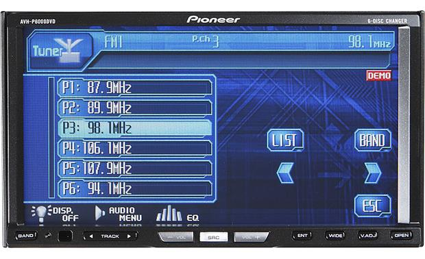 Pioneer AVH-P6000DVD Other
