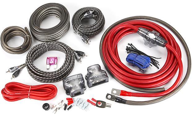 rockford fosgate rfk4d 4 dual lifier complete wiring kit at crutchfield
