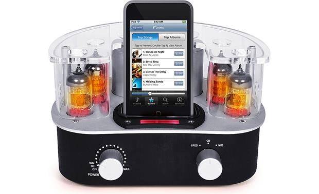 Roth Audio MC4 Music Cocoon Hybrid tube amplifier with built-in iPod