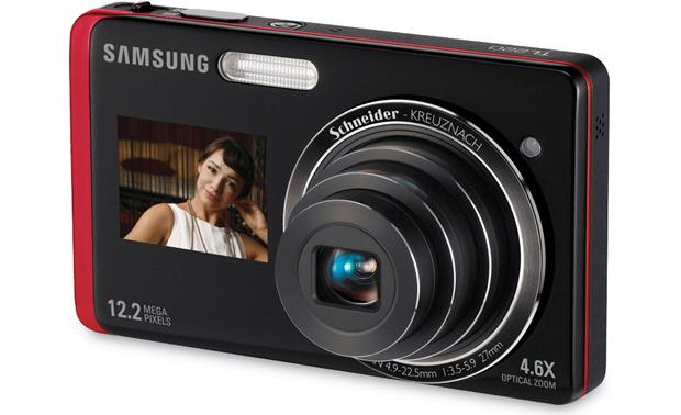 Samsung TL220 Black with red trim