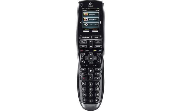 logitech harmony 900 universal learning remote with web based rh crutchfield com logitech harmony 670 remote control manual Remote Touch Harmony Logitech 915-000252