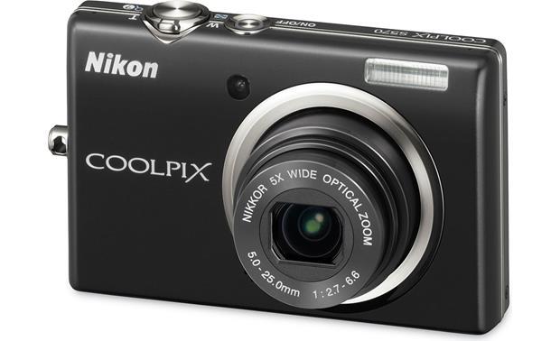nikon coolpix s570 black 12 megapixel digital camera with 5x rh crutchfield com VisionTek 5570 Drivers VisionTek 5570 Drivers